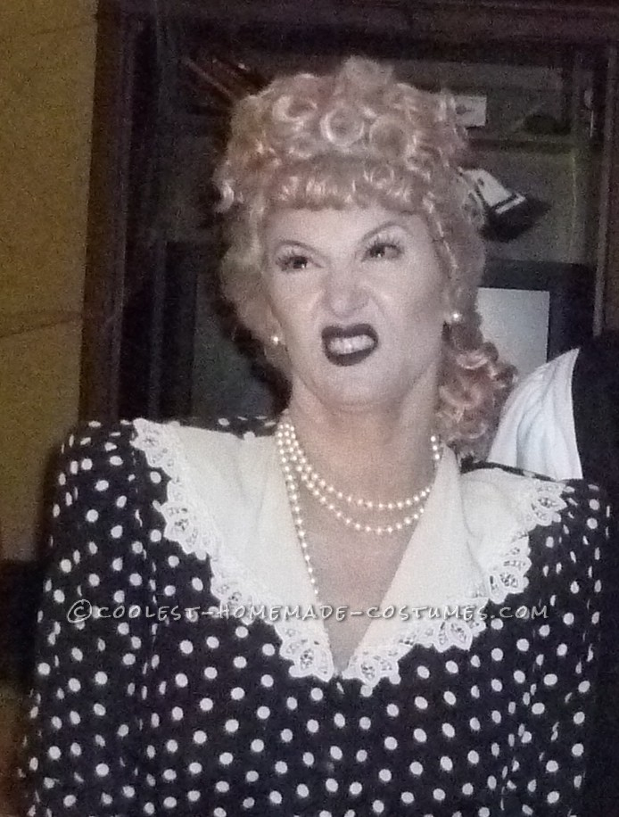 I had wanted to do a Black & White Halloween character and started to look into movie and TV personalities. Since the I Love Lucy show began in 1