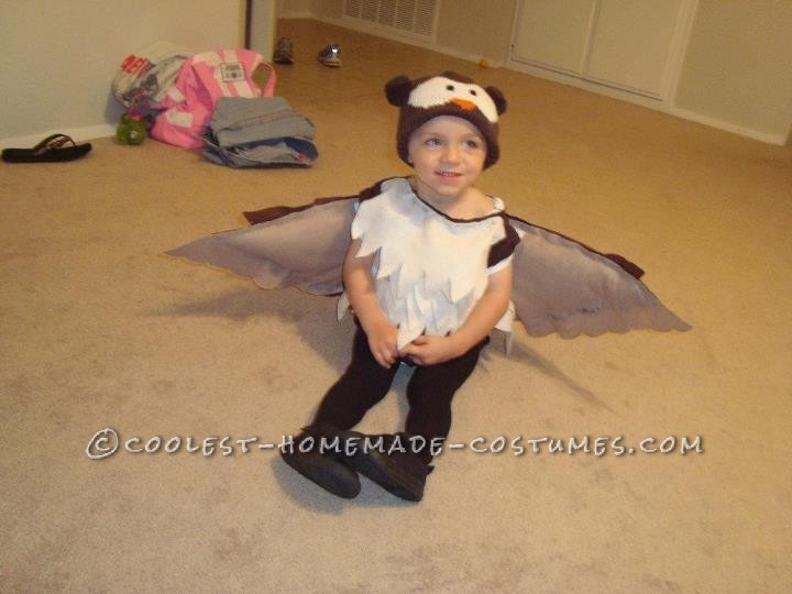 Coolest Owl Costume for a Little Boy - 3