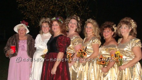 We had a group of people who pulled off the best Redneck Shotgun Wedding EVER!!! All us girls got together and went shopping to find the ugliest mate