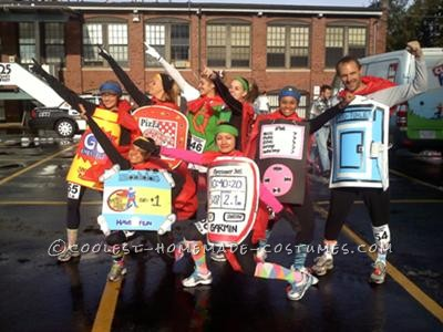 """I found this 5k race called Super Hero 5k, we wanted a group costumes since we all are addicted to running I though id be great to be \"""" race/runni"""