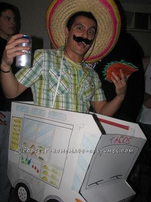 """This was a last minute costume designed for a friends letter """"T"""" themed party. made it out of construction paper and poster board then topped i"""