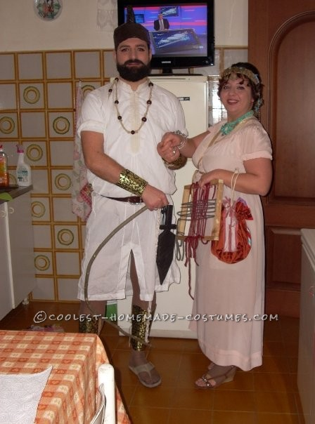 Coolest Ulysses and Penelope Couple Costume