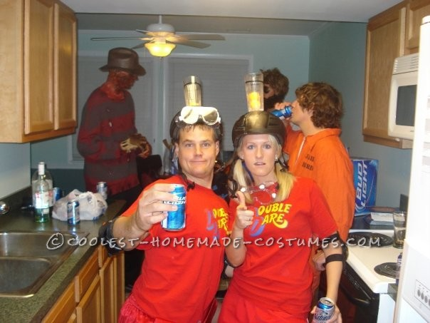 Coolest Double Dare Couples Halloween Costume - 1