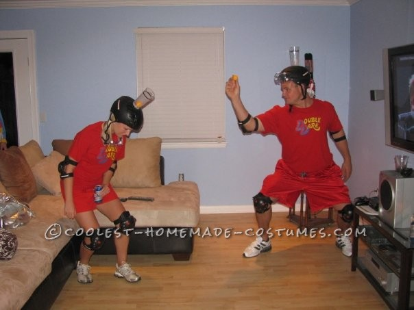Coolest Double Dare Couples Halloween Costume - 2