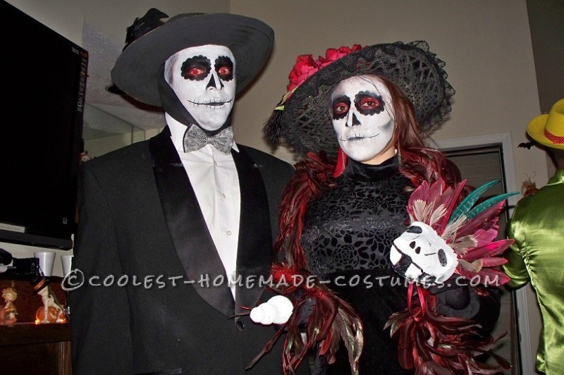 Coolest Day of the Dead Costumes (La Catrina) - 3