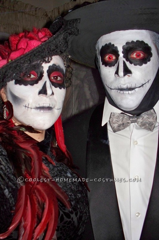 Coolest Day of the Dead Costumes (La Catrina)