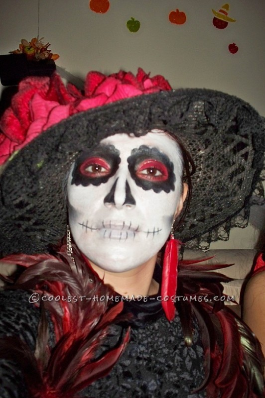 Coolest Day of the Dead Costumes (La Catrina) - 1