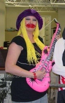detailed janice the muppet costume guitarist for electric