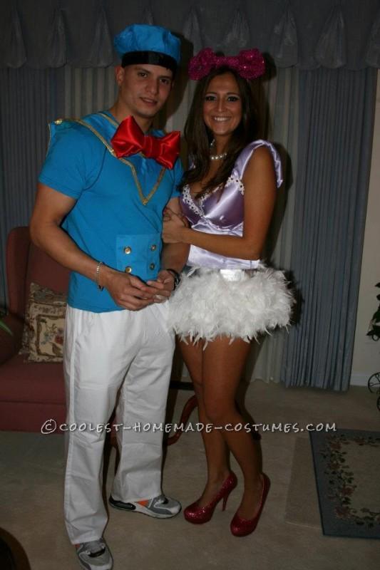 8e2411604ea Coolest Disney s Donald and Daisy Couple Halloween Costume