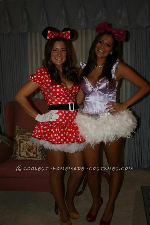 Daisy with her friend Minnie