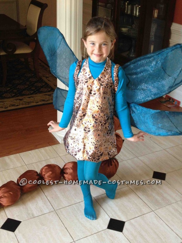 I think this was my most difficult project to date, but it turned out beautifully. This year, my daughter said she wanted to be a dragon fly and we