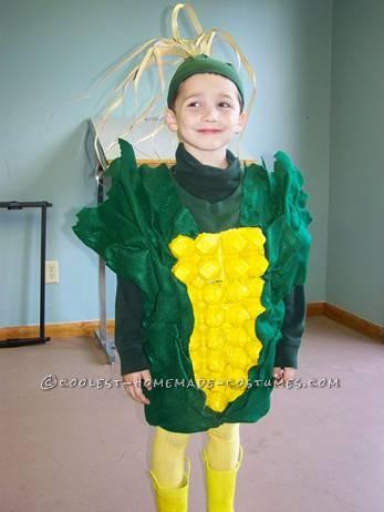 Coolest Ear of Corn Halloween Costume
