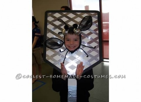 Easy Homemade Flyswatter Costume