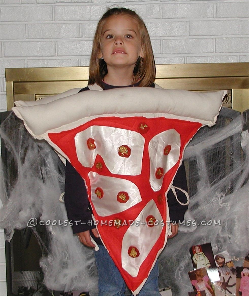 Pizza Costume with Pizzaz!