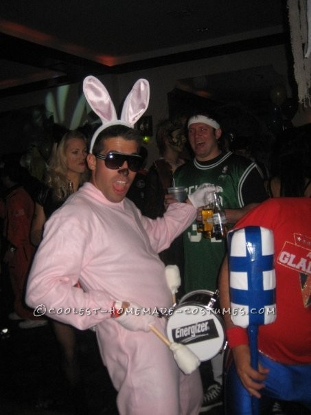 energizer bunny halloween costume very simple