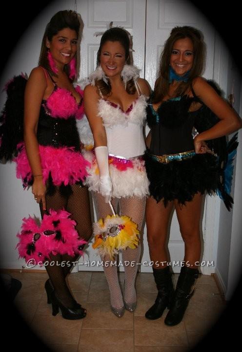 Sexy Exotic Birds Group Halloween Costumes - 3