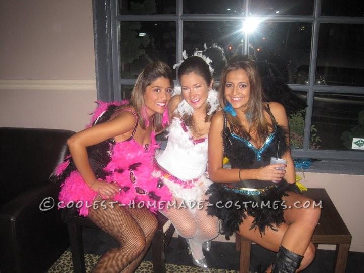 Sexy Exotic Birds Group Halloween Costumes - 5