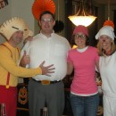 We are big Family Guy fans so when we were trying to think of a costume idea for a group Family Guy was a perfect idea! We got the outfits for