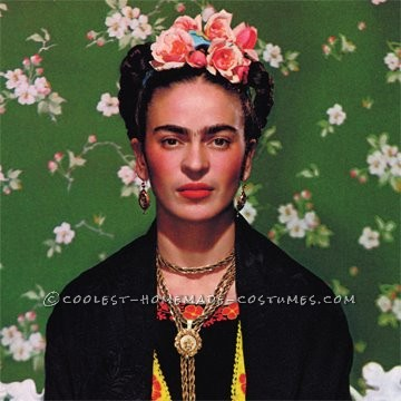 Last year, I struggled with a costume idea. At the last minute, I came up with the idea of dressing up as Frida Kahlo because I did not want a