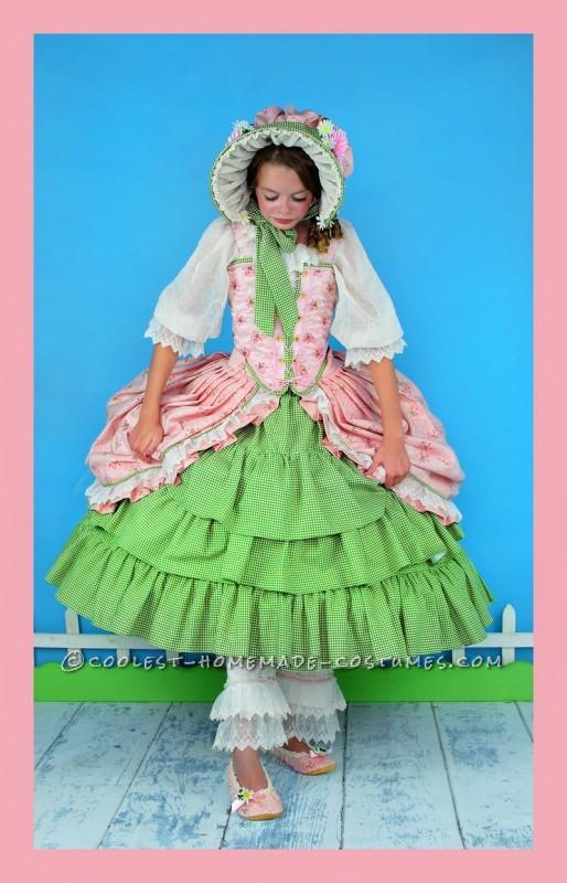 Frilly, Feminine, Little Bo Peep Costume for Tween Girl - 4