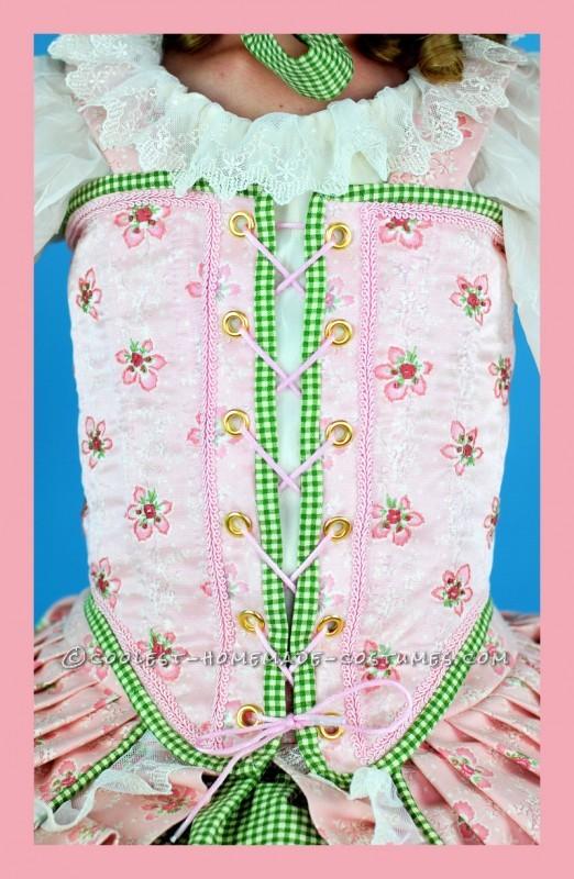 Frilly, Feminine, Little Bo Peep Costume for Tween Girl - 2