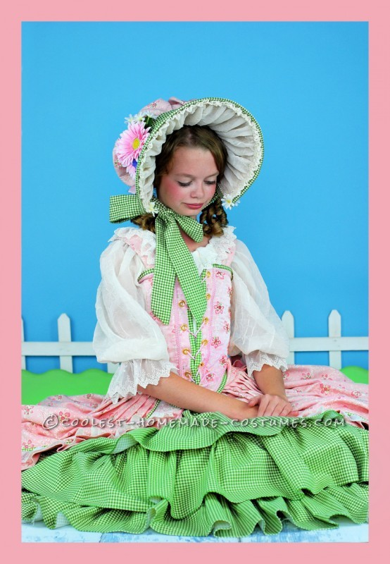 Frilly, Feminine, Little Bo Peep Costume for Tween Girl - 1