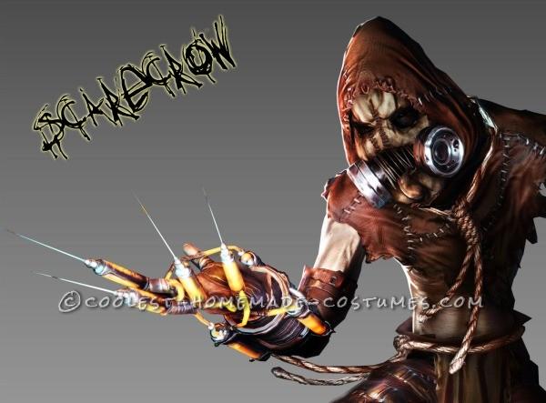 Original Glowing Scarecrow Costume from Batman Arkum Asylum