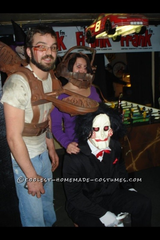 Hands Down Best Saw Death Traps Costumes - 1