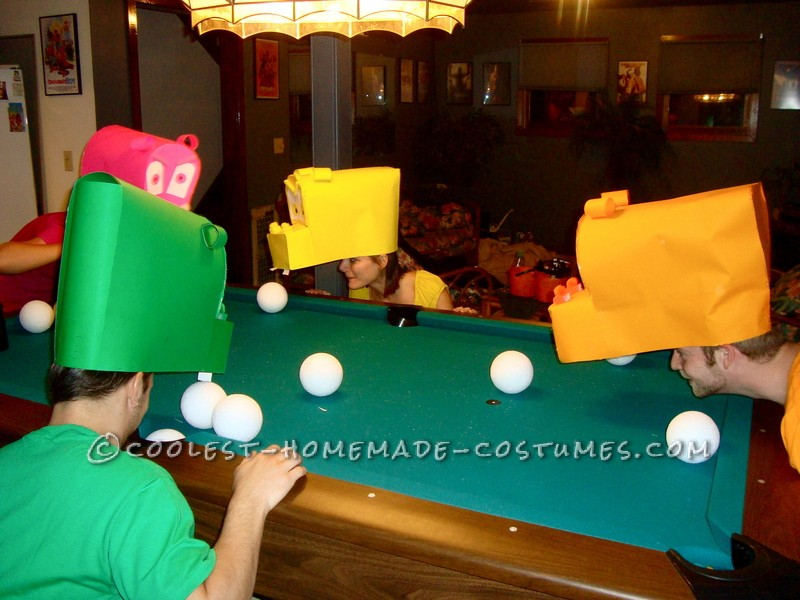 Awesome Hungry Hungry Hippos Group Costume - 4