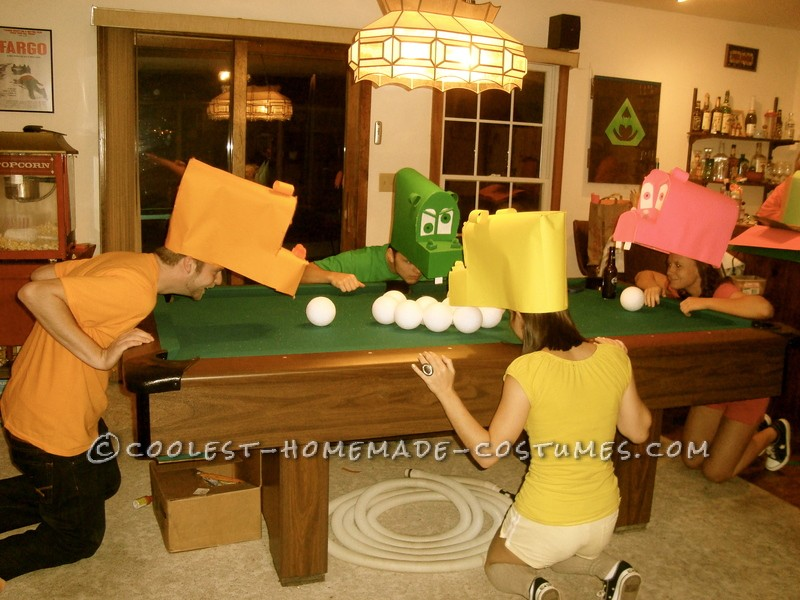 Awesome Hungry Hungry Hippos Group Costume - 2
