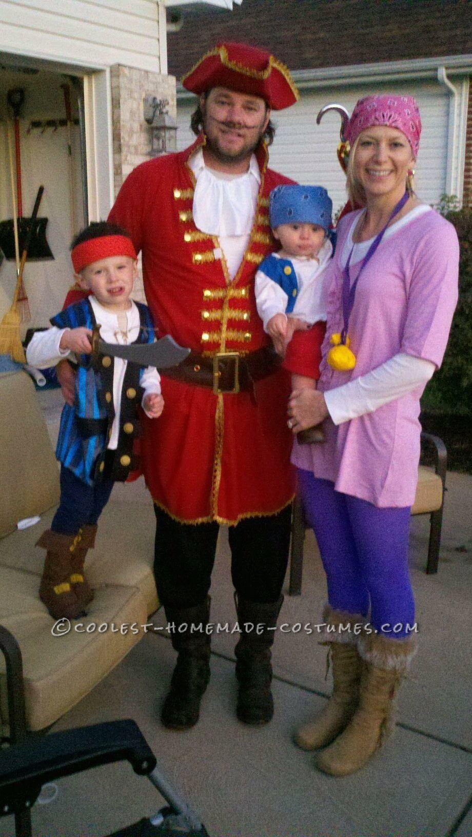 Every year, we decide as a family what our Halloween costume will be.  Always homemade.  Last year, we went with Disney\'s Jake & the
