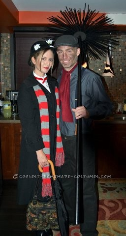 Mary Poppins and Chimney Sweep