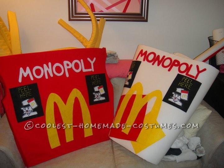 Original McDonald's Monopoly Couples Costumes - 1