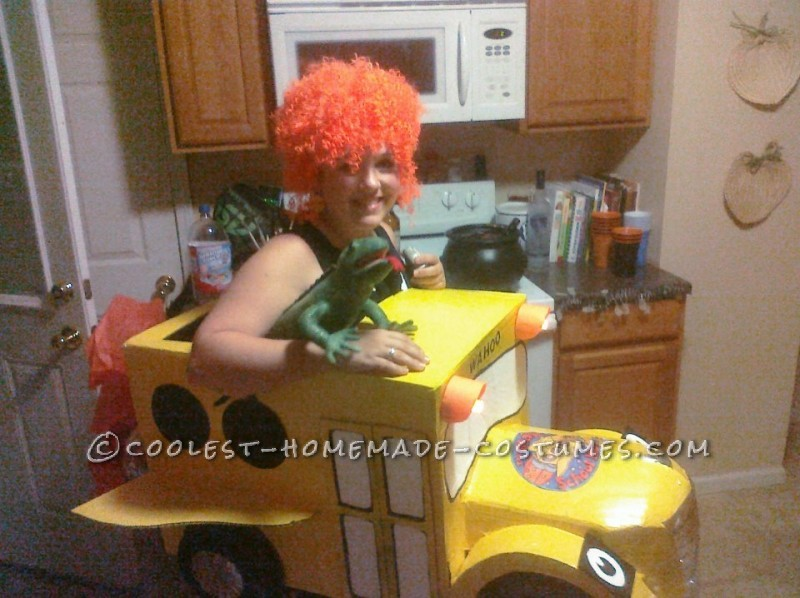 Coolest Miss Frizzle and the Magic School Bus Costume - 1