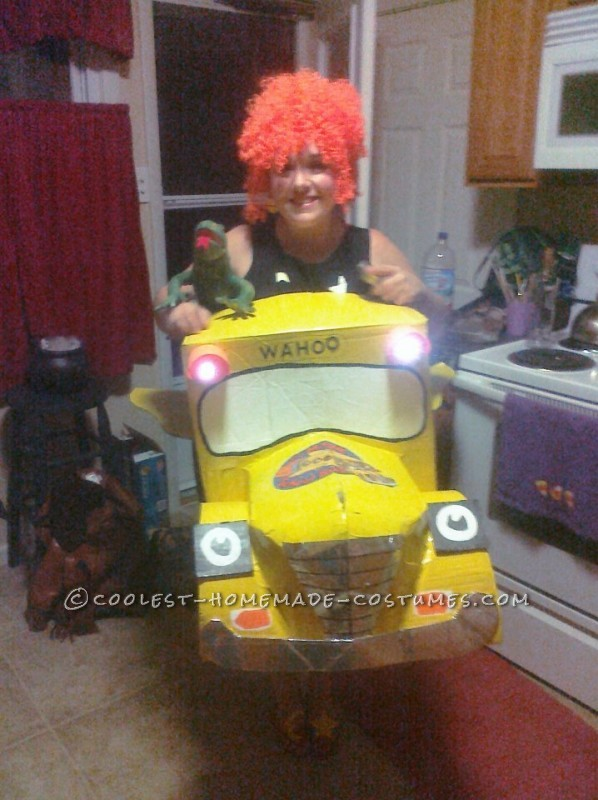 Coolest Miss Frizzle and the Magic School Bus Costume