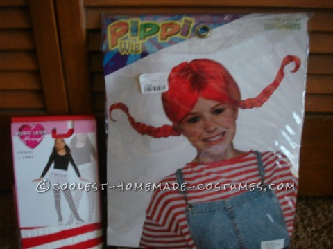 From the time my granddaughter (who lives in another state)was six years old she has wanted to be the Wendy's Restaurant girl for Halloween.&n