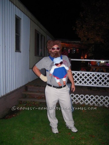 Coolest Homemade Alan Costume from The Hangover