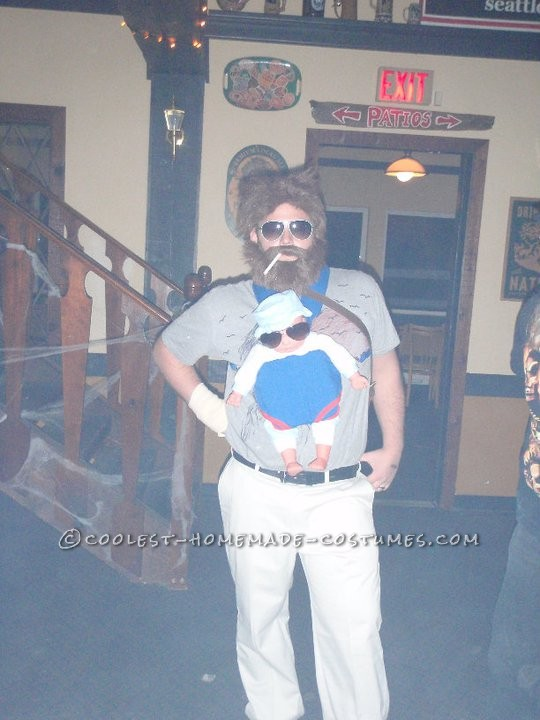 Coolest Homemade Alan Costume from The Hangover - 1