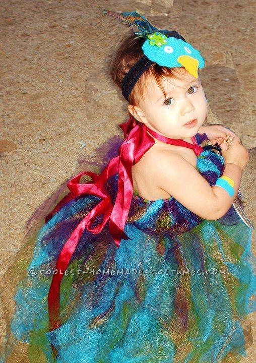 Original Baby Peacock Costume