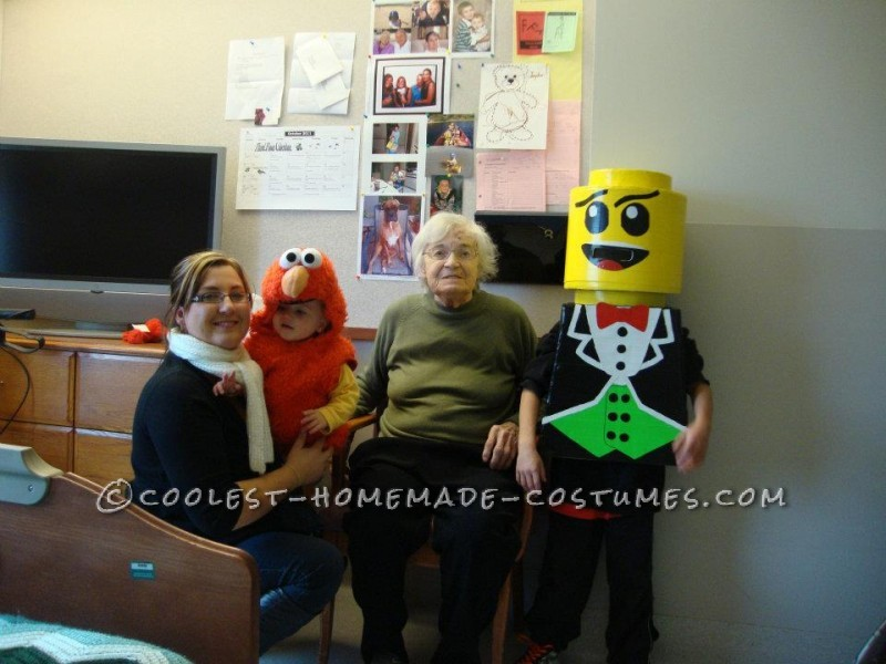 Our Famous Homemade Lego Costume