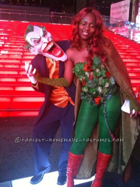 First of all making the Poison Ivy costume wasn\'t hard BUT finding a durable bodice was very tricky. This is a costume that you definitely have to