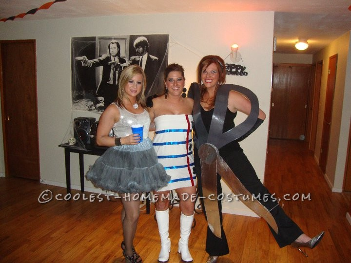 Coolest Rock, Paper, Scissors Group Costume