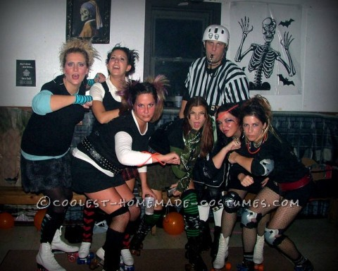 coolest roller derby group costume