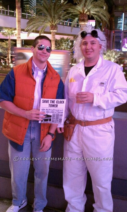 When you think classics, you think Back to the Future. We decided to Fly from Chicago to Las Vegas for Halloween, and wanted to walk the strip with a