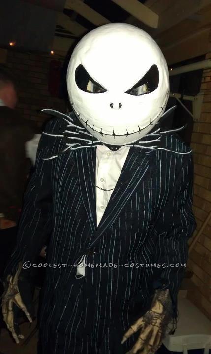 Scariest Disney Costume Welcome Jack Skellington - 2