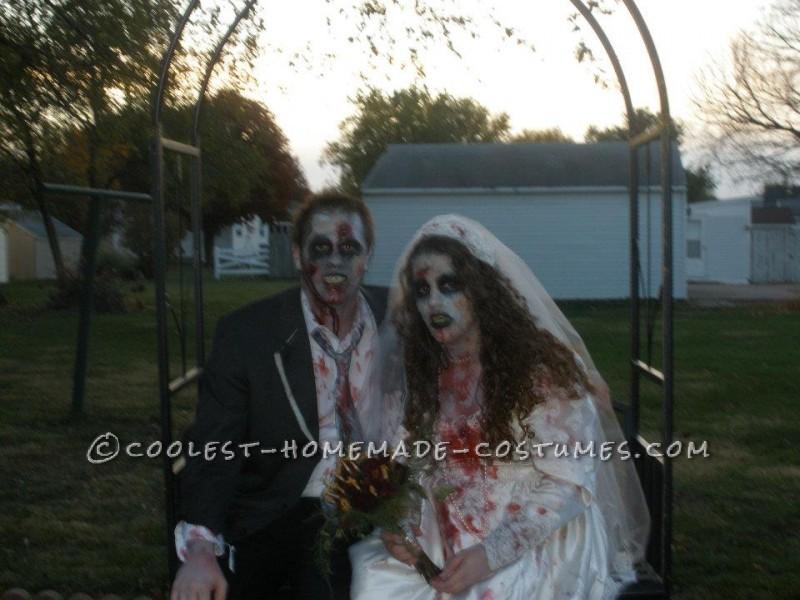 Zombie Bride and Groom