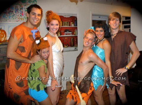 A group of me and five other friends decided to do flinstones last halloween and all of our costumes turned out terriffic! They were all mostly made