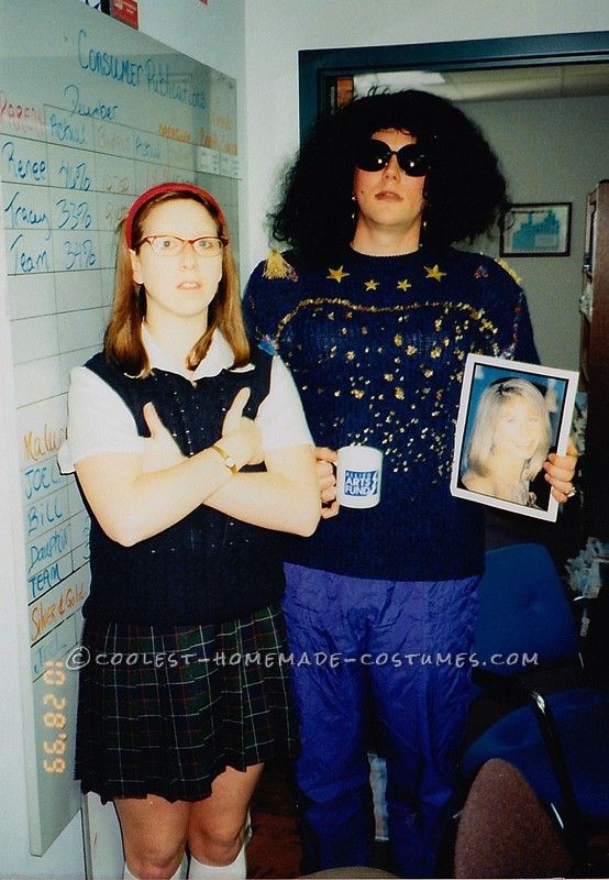 Coolest SNL – Mary Kathern Gallagher and Coffee Talk Lady Couple Costume