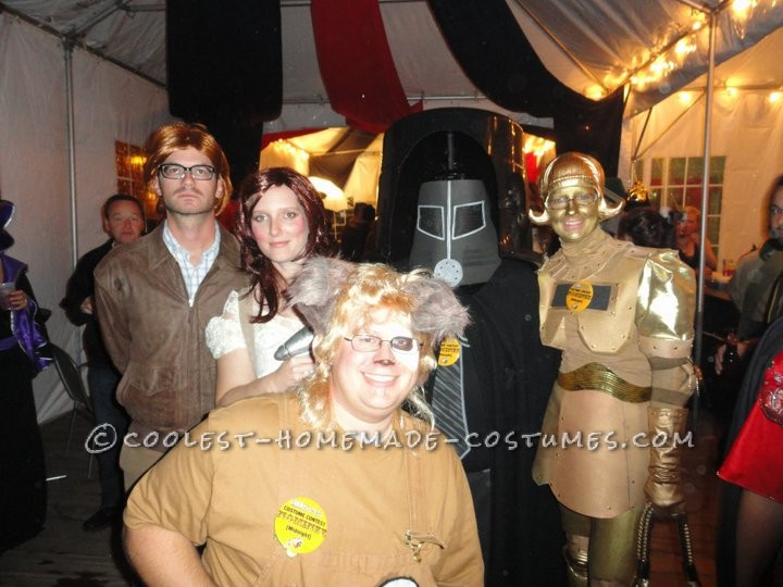 Coolest Spaceballs Cast Group Halloween Costumes - 2