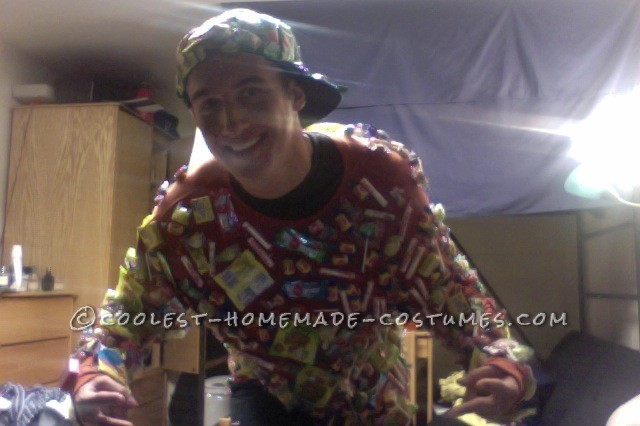 The Cool Girl-Getter Candy Man Costume - 1
